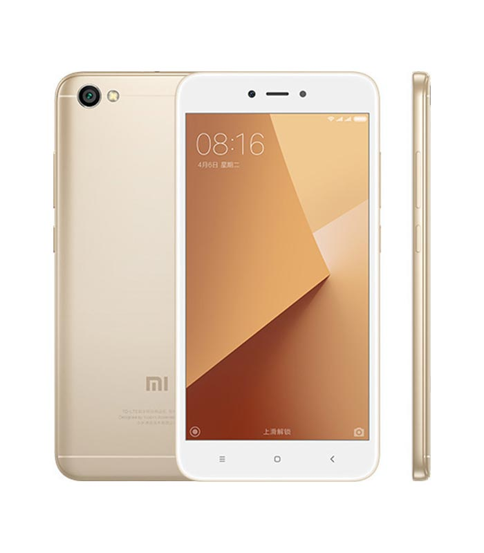 Xiaomi Redmi Note 5A Standard (2GB/16GB) - Gold 01