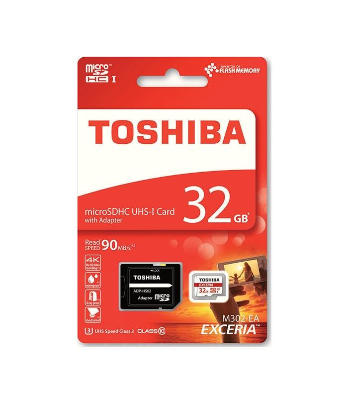 TOSHIBA-MicroSDHC-32GB-Class-10
