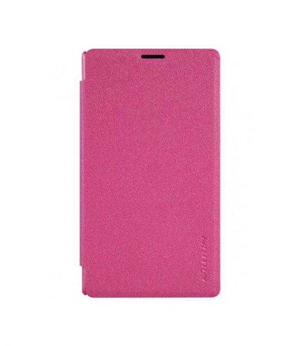 nillkin-book-sprakle-thiki-gia-microsoft-lumia-435-roz