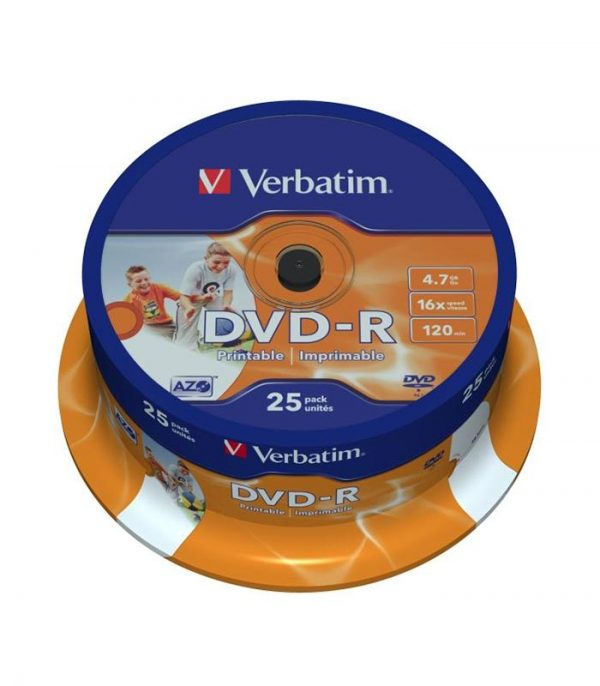 Verbatim-DVD-R-16x-4,7GB-Ink-Jet-Printable-CakeBox