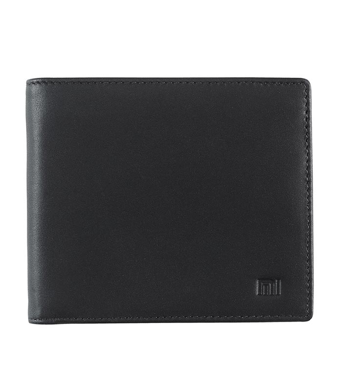 5c1a6d8b71 Xiaomi Bifold Wallet Δερμάτινο Πορτοφόλι - Μαύρο - MrBig.gr