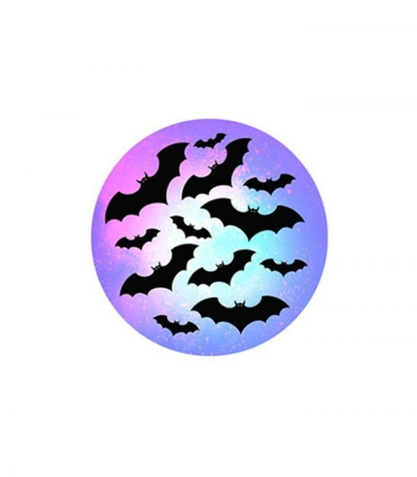 Pop Socket Mobile Stand and Holder - Bat Night
