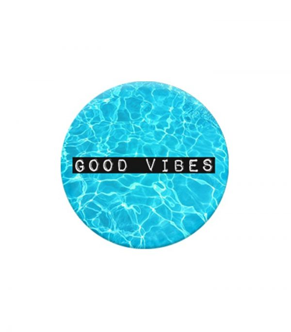 Pop Socket Mobile Stand and Holder - Good Vibes Blue
