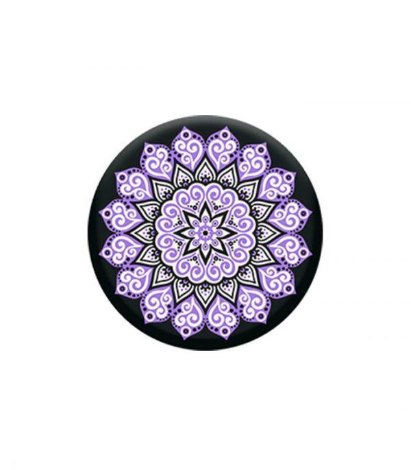 Pop Socket Mobile Stand and Holder - Peace Mandala