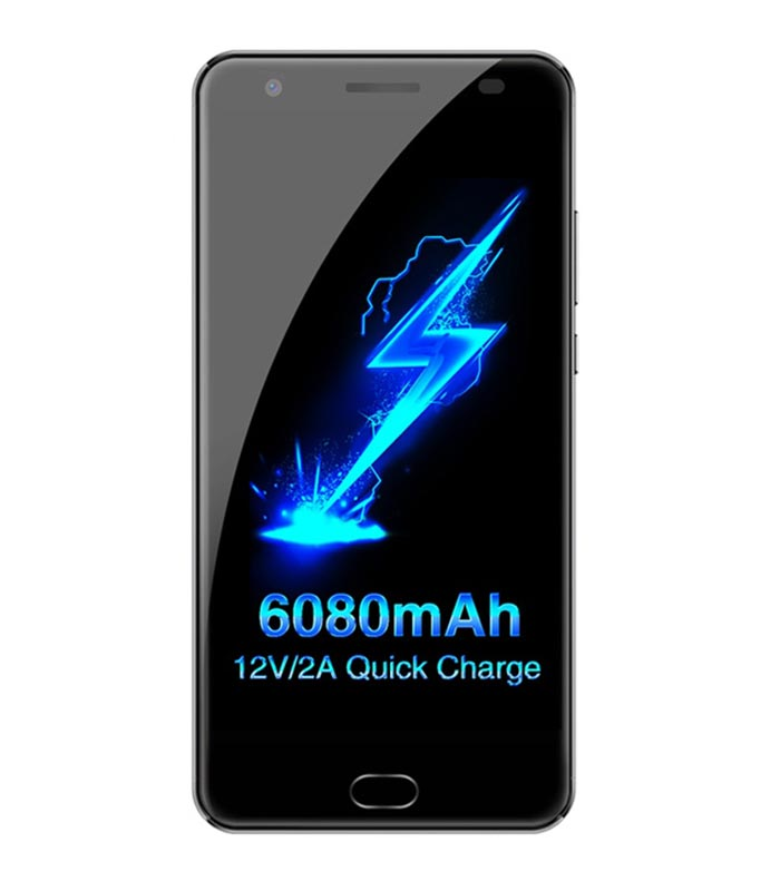 Oukitel K6000 Plus (4GB/64GB) - Μαύρο