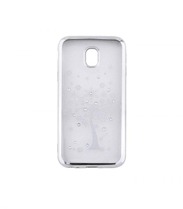 Beeyo Diamond Tree Θήκη για Samsung S9 - Ασημί