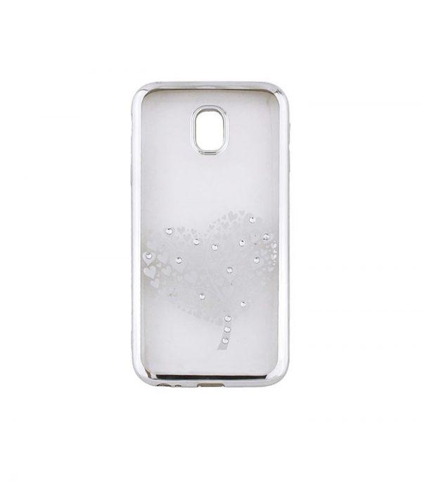 Beeyo Hearts Tree Θήκη για Samsung S9 - Ασημί