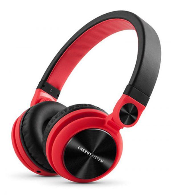 Energy Sistem DJ2 Headphones - Κόκκινο