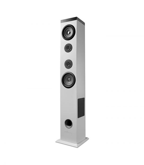 Energy Sistem Tower 5 Ηχείο Bluetooth, 2.1ch, USB/SD/FM, 60W - Λευκό