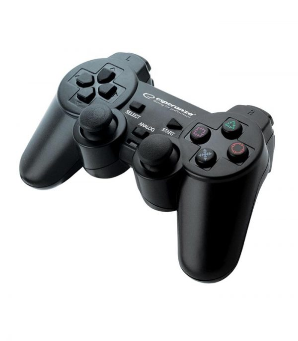 Esperanza EG106 Corsair Ενσύρματο Gamepad Vibration PS2/PS3/PC