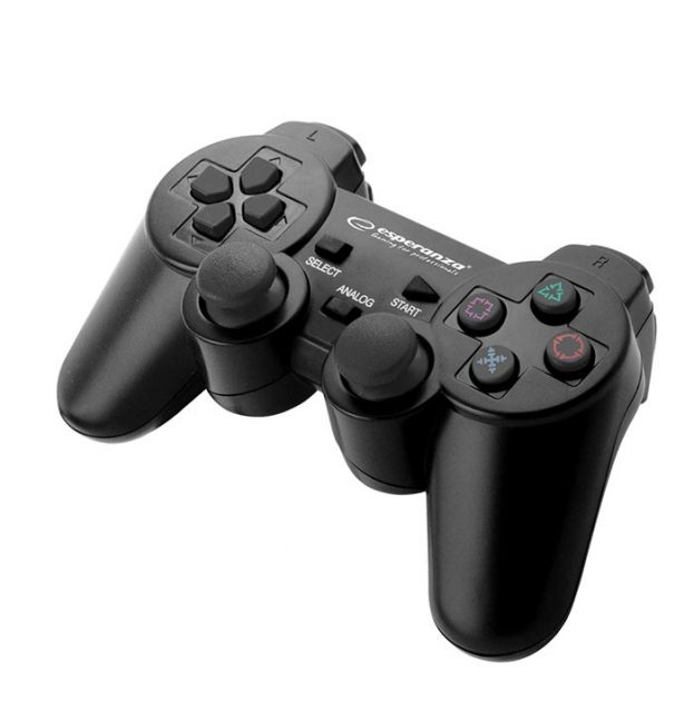 Esperanza EGG107K Trooper Ενσύρματο Gamepad PS3/PC - Μαύρο