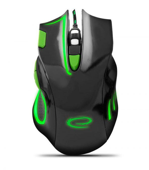 Esperanza EGM401KG HAWK Gaming Ποντίκι Ενσύρματο - Μαύρο