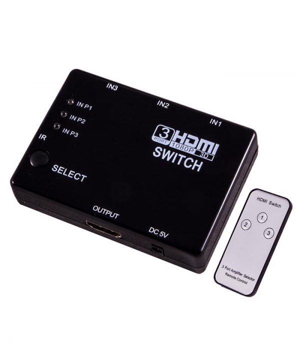 Esperanza HDMI Switch with Remote