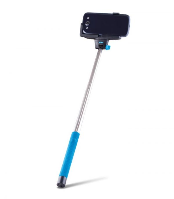 Forever MP-100 Selfie Stick Bluetooth - Μπλε
