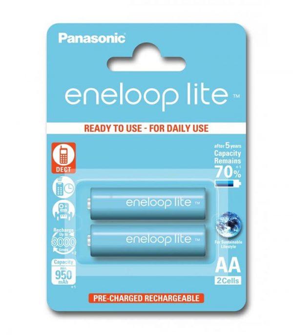 Panasonic Eneloop Lite AA 950mAh (2τμχ)