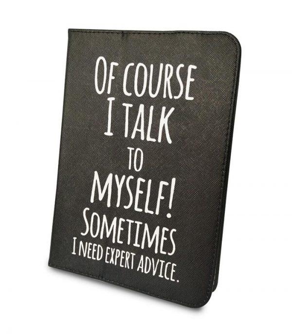 "Talk to Myself Θήκη Universal για Tablet 9""-10"" - Μαύρο"
