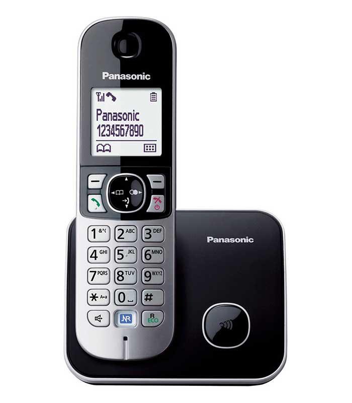 Panasonic KX-TG6811 Ασύρματο Ψηφιακό Τηλέφωνο - Μαύρο