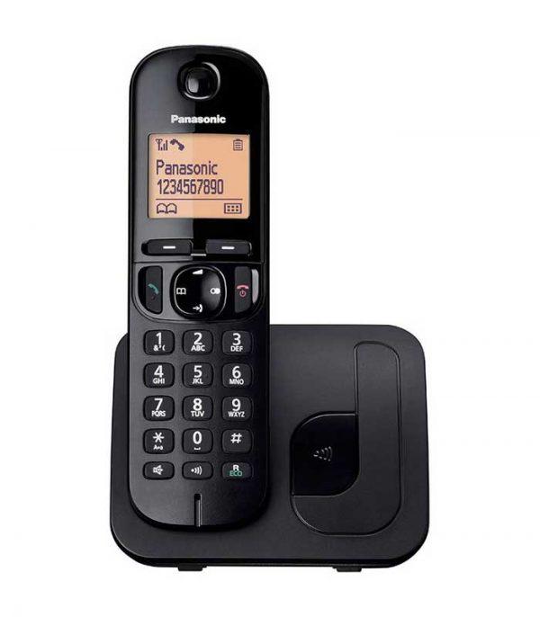 Panasonic KX-TGC210GRB Ασύρματο Ψηφιακό Τηλέφωνο - Μαύρο