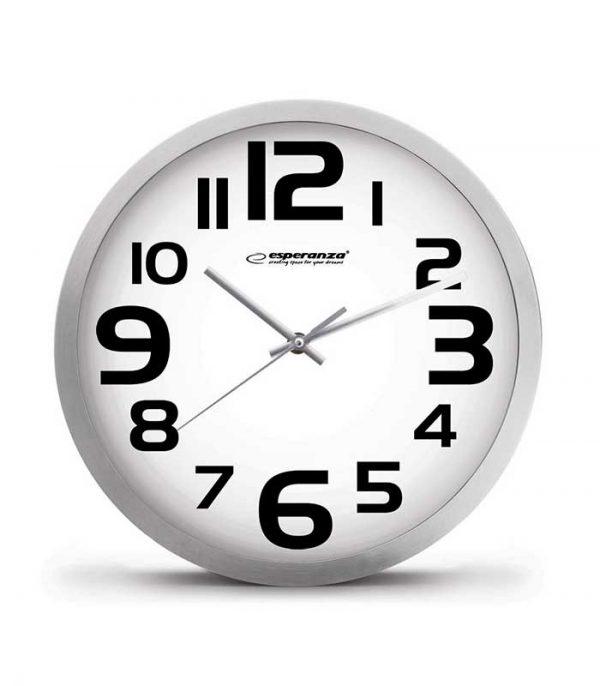 Esperanza EHC013W Ρολόι Τοίχου Zurich - Λευκό