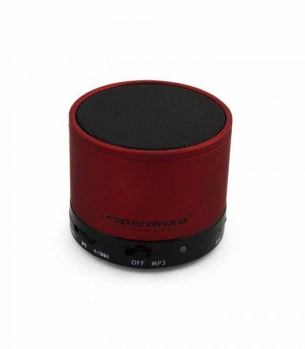 Esperanza EP115C Ritmo Bluetooth Speaker - Κόκκινο
