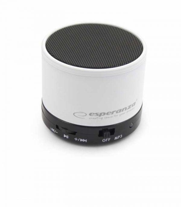 Esperanza EP115W Ritmo Bluetooth Speaker - Λευκό