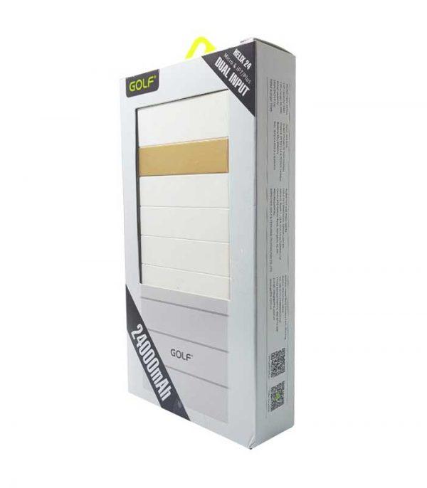 Golf Power Bank Helix 24 Plus 24000mAh - Λευκό
