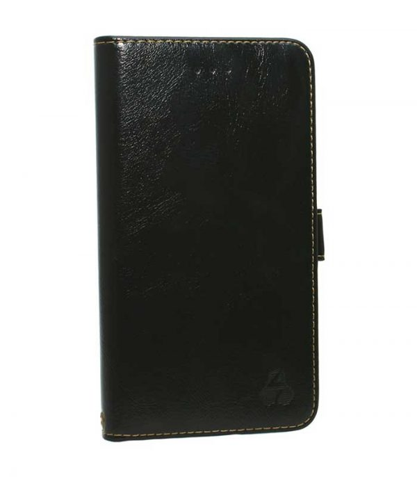 Powertech Θήκη ELEGANCE Leather για Leagoo M5 - Μαύρο
