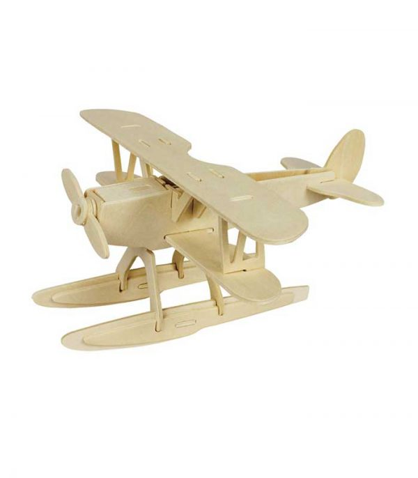 ROWOOD Ξύλινο 3D πάζλ υδροπλάνο JP209, 38τμχ