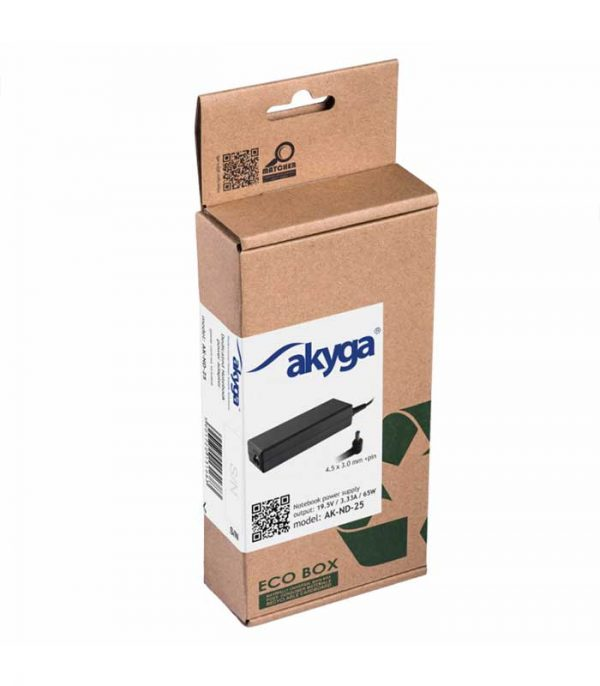 Akyga Φορτιστής Laptop HP (AK-ND-25)