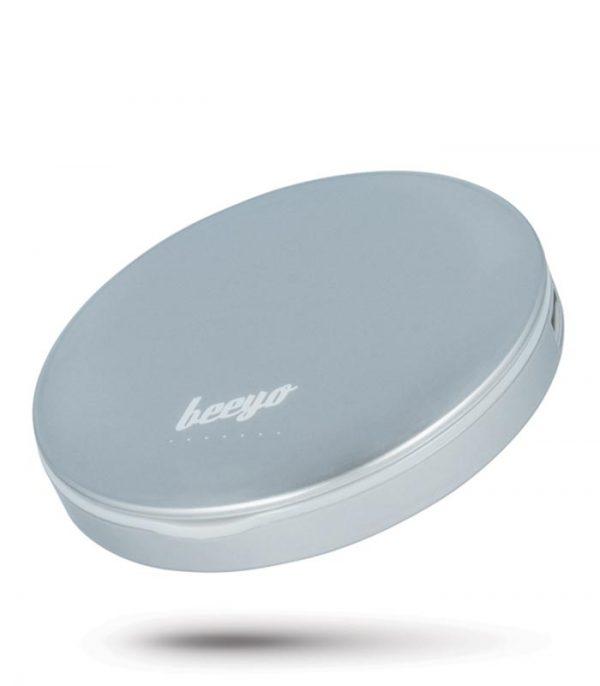Beeyo Compact Mirror Power Bank 3000mAh - Ασημί