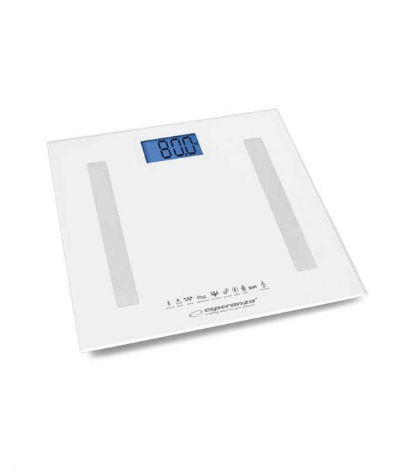 Esperanza EBS016K Ζυγαριά Μπάνιου Λιπομετρητής Bluetooth 8in1 - Λευκό