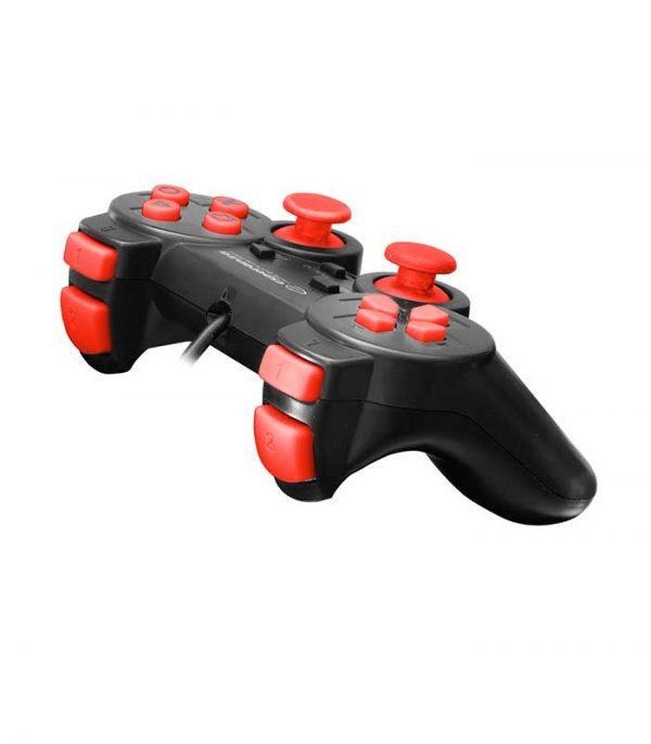 Esperanza EGG106R Corsair Ενσύρματο Gamepad Vibration PS2/PS3/PC - Μαύρο/Κόκκινο