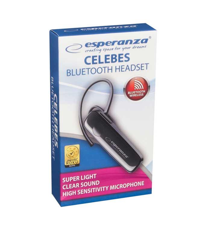 Esperanza EH184K Celebes Bluetooth Headset - Μαύρο