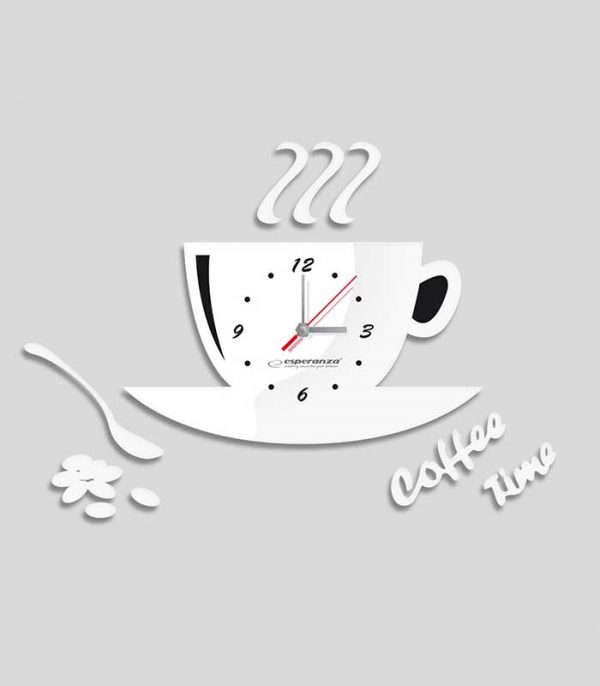 Esperanza EHC006W Ρολόι Τοίχου Florence - Λευκό