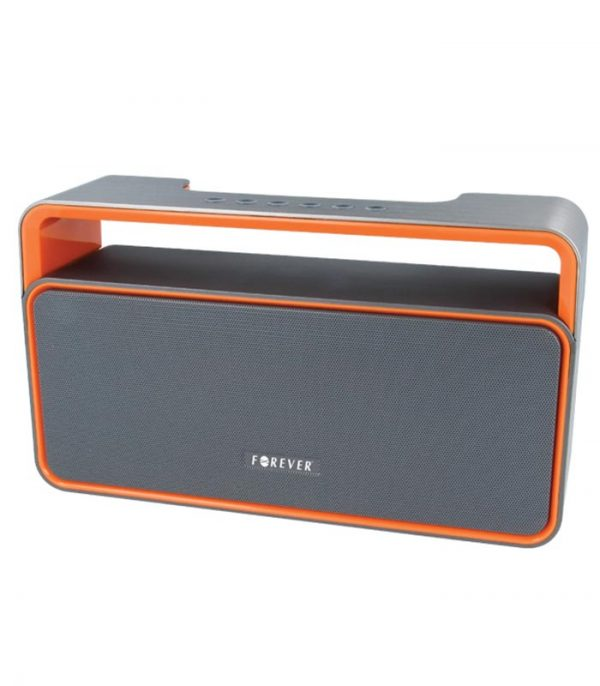 Forever BS-600 Bluetooth Ηχείο - Γκρι/Πορτοκαλί