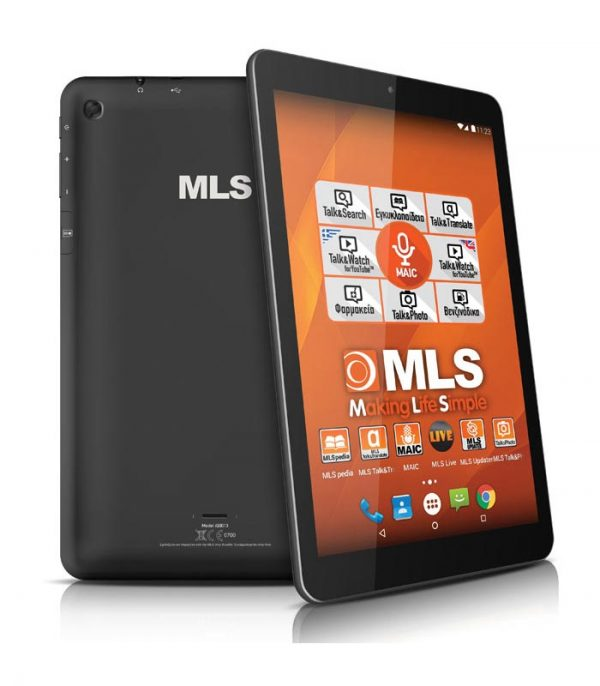 "MLS Life 10.1"" Quad Core, Android 6.0 (1GB/16GB) - Μαύρο"