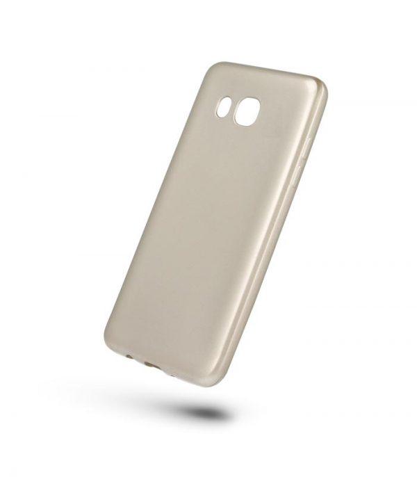 OEM Oil TPU Ultra Slim Θήκη για Huawei Y5/Y5III/Y6 2017 - Χρυσό