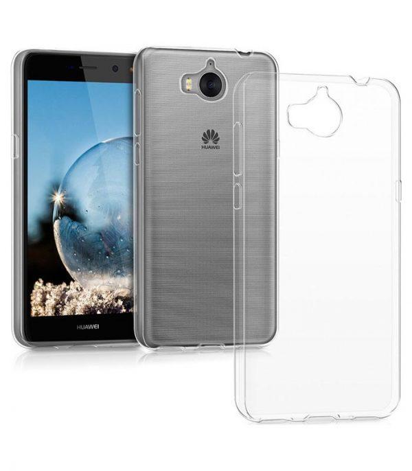 OEM TPU Ultra Slim 0.3mm Θήκη για Huawei Y5/Y5 III/Y6 2017 - Διάφανο
