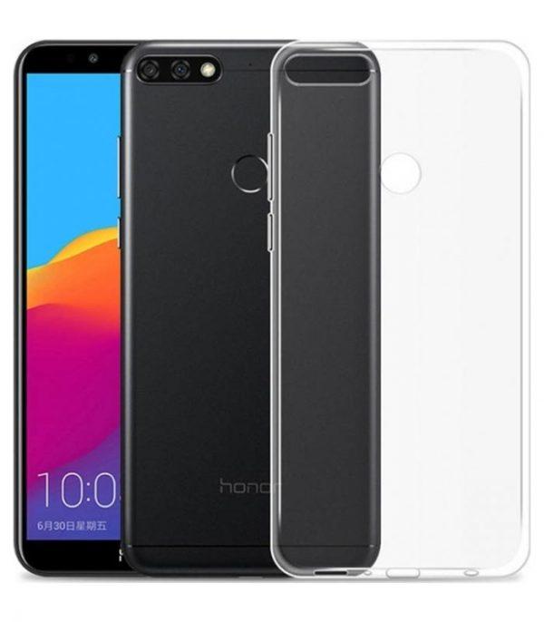 OEM TPU Ultra Slim 0.5mm Θήκη για Huawei Y7 Prime 2018 - Διάφανο