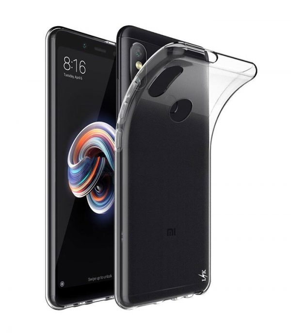 OEM TPU Ultra Slim 0.5mm Θήκη για Xiaomi Redmi Note 5 - Διάφανο