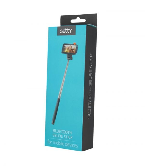 Setty Selfie Stick Bluetooth - Μαύρο