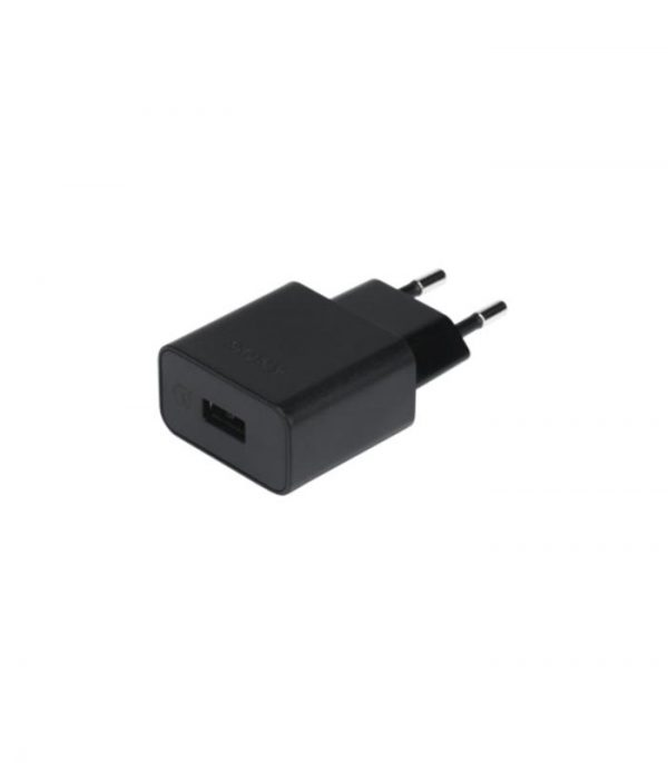 UCH12 Wall Charger Quick Charger (Bulk) - Μαύρο