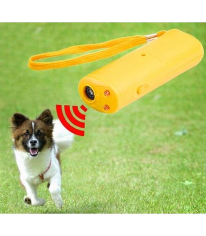 Συσκευή Απώθησης / Εκπαίδευσης Σκύλου με Υπερήχους + Φακός