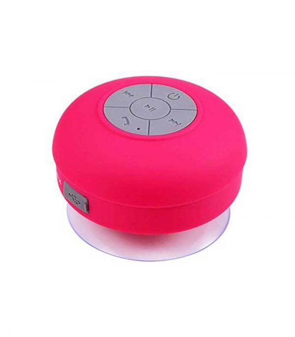 Αδιάβροχο Bluetooth Ηχείο Βεντούζα BTS-06 - Φουξ