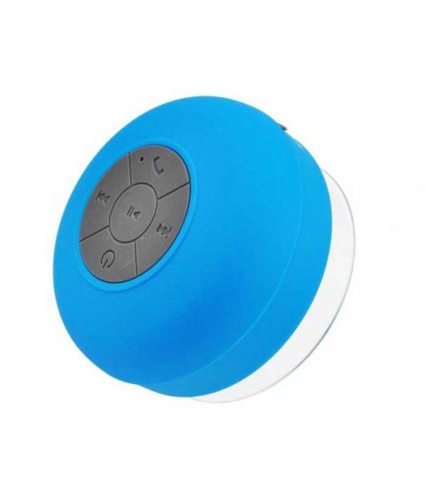 Αδιάβροχο Bluetooth Ηχείο Βεντούζα BTS-06 - Γαλάζιο