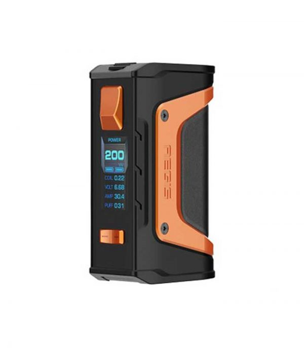 Geek Vape Aegis Legend 200W - Black & Orange