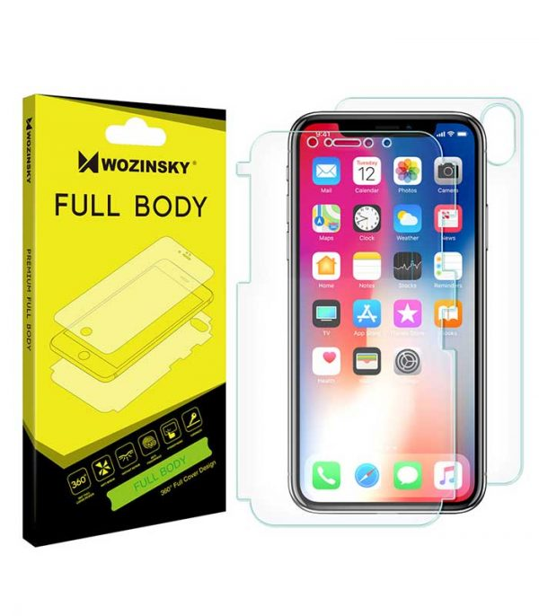 Wozinsky Full Body Self-Repair 360° Full Coverage Screen Protector Film for iPhone XS / X