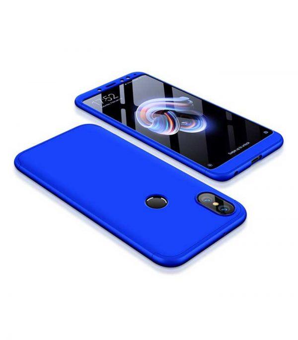 ΟΕΜ TPU Front / Back 360 Θήκη για Xiaomi Redmi Note 5 - Μπλε