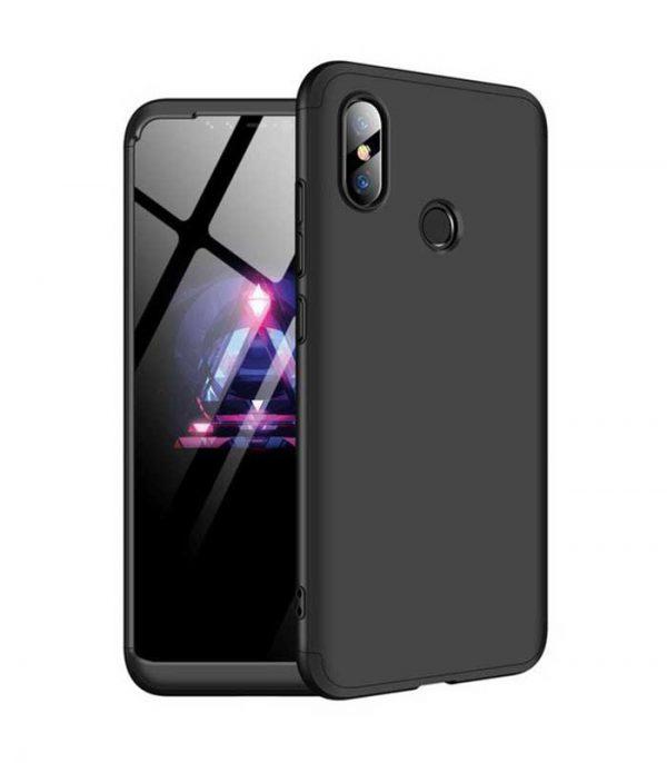 ΟΕΜ TPU Front / Back 360 Θήκη για Xiaomi Mi 8 - Μαύρο