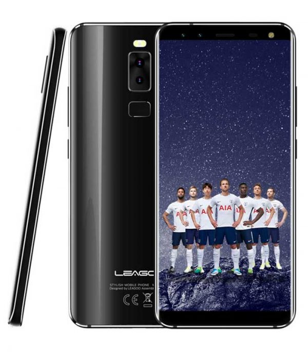 "Leagoo S8 5.7"" HD IPS, 4G, 8 Core, Quad Cam (3GB/32GB) - Μαύρο"